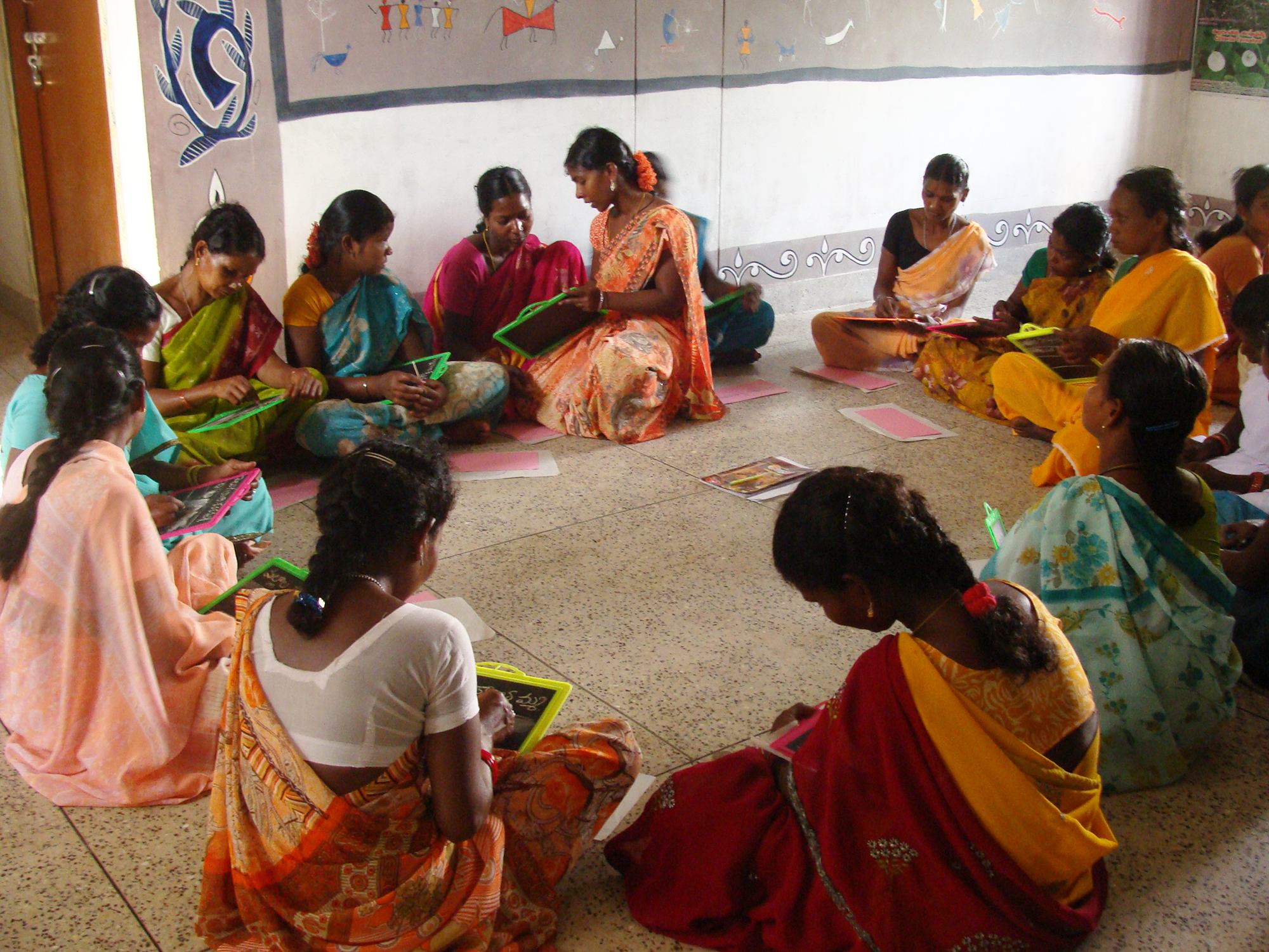 The first residential 10-day crash literacy programme was established in  2004 to meet the needs of tribal women and men leaders in the tribal region  of ...