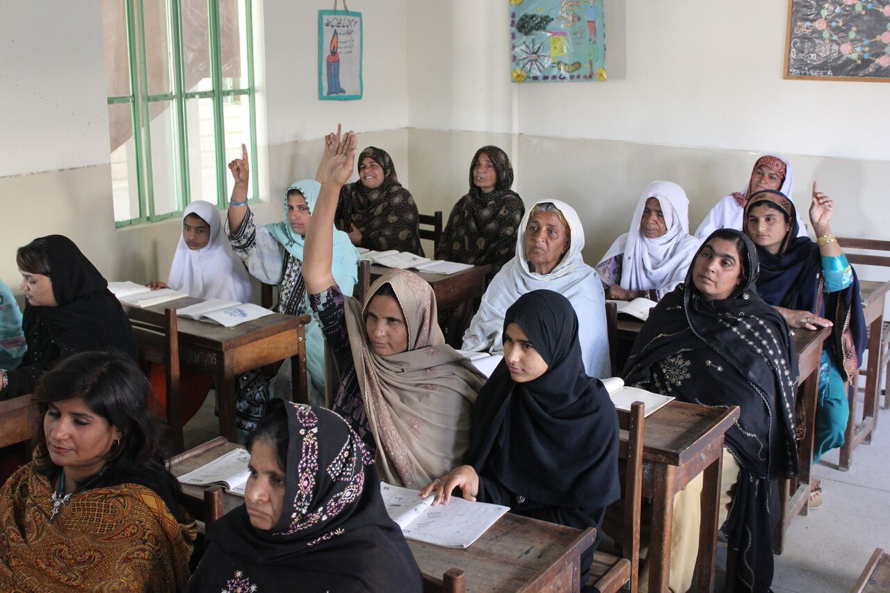 The Aagahi Adult Literacy Programme (Citizens Foundation, Pakistan). Image. The  Adult Literacy ...